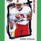 1995 Score Football #266 Eddie Goines RC - Seattle Seahawks