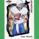 1995 Score Football #259 John Walsh RC - Cincinnati Bengals