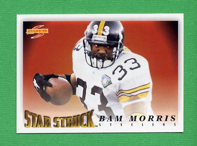 1995 Score Football #233 Byron Bam Morris SS - Pittsburgh Steelers
