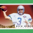 1995 Score Football #232 Rick Mirer SS - Seattle Seahawks