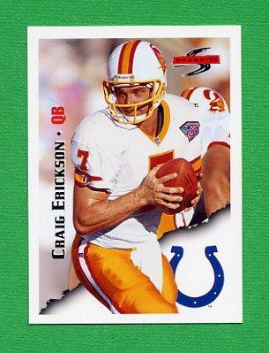 1995 Score Football #093 Craig Erickson - Indianapolis Colts