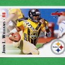 1995 Score Football #080 John L. Williams - Pittsburgh Steelers