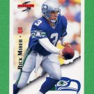 1995 Score Football #051 Rick Mirer - Seattle Seahawks