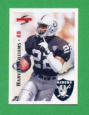 1995 Score Football #028 Harvey Williams - Oakland Raiders