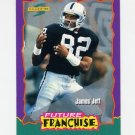 1994 Score Football #323 James Jett - Los Angeles Raiders