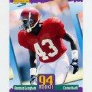 1994 Score Football #295 Antonio Langham RC - Cleveland Browns