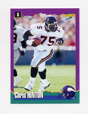 1994 Score Football #264 Chris Hinton - Minnesota Vikings