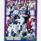 1994 Score Football #248 Vincent Brisby - New England Patriots