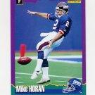 1994 Score Football #225 Mike Horan - New York Giants
