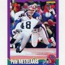 1994 Score Football #178 Pete Metzelaars - Buffalo Bills
