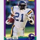 1994 Score Football #177 Terry Allen - Minnesota Vikings