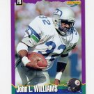 1994 Score Football #166 John L. Williams - Pittsburgh Steelers