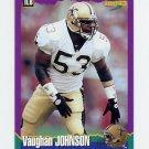 1994 Score Football #128 Vaughan Johnson - New Orleans Saints