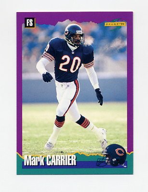1994 Score Football #110 Mark Carrier - Chicago Bears