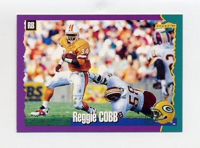 1994 Score Football #096 Reggie Cobb - Green Bay Packers