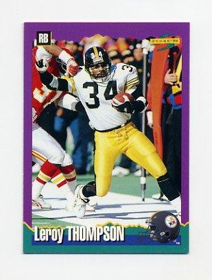1994 Score Football #080 Leroy Thompson - Pittsburgh Steelers