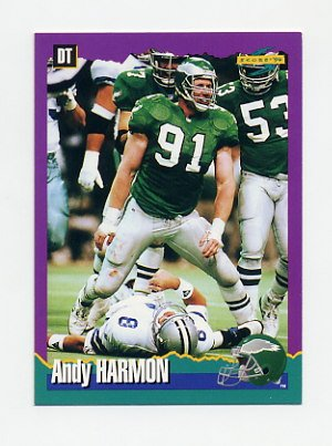 1994 Score Football #064 Andy Harmon - Philadelphia Eagles