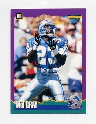 1994 Score Football #061 Mel Gray - Detroit Lions