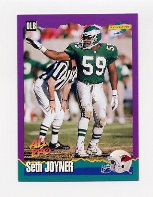 1994 Score Football #035 Seth Joyner - Arizona Cardinals