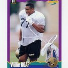 1994 Score Football #029 Willie Roaf - New Orleans Saints