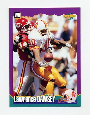 1994 Score Football #023 Lawrence Dawsey - Tampa Bay Buccaneers
