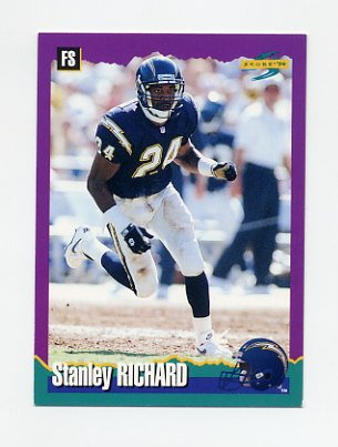 1994 Score Football #012 Stanley Richard - San Diego Chargers