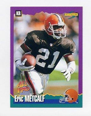 1994 Score Football #006 Eric Metcalf - Cleveland Browns