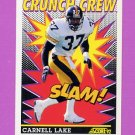 1992 Score Football #519 Carnell Lake CC - Pittsburgh Steelers