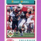 1992 Score Football #493 Tommy Vardell RC - Cleveland Browns