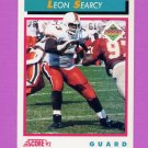 1992 Score Football #492 Leon Searcy RC - Pittsburgh Steelers