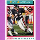 1992 Score Football #457 Trace Armstrong - Chicago Bears
