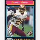 1992 Score Football #440 Darrell Green - Washington Redskins