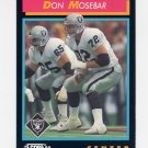 1992 Score Football #437 Don Mosebar - Los Angeles Raiders