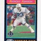 1992 Score Football #374 Anthony Johnson - Indianapolis Colts