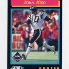1992 Score Football #362 John Kidd - San Diego Chargers