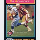 1992 Score Football #348 Bill Romanowski - San Francisco 49ers