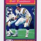 1992 Score Football #194 Gary Zimmerman - Minnesota Vikings