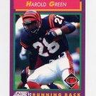 1992 Score Football #186 Harold Green - Cincinnati Bengals