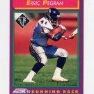 1992 Score Football #159 Erric Pegram - Atlanta Falcons