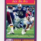 1992 Score Football #158 Jack Del Rio - Dallas Cowboys