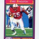 1992 Score Football #153 Chris Singleton - New England Patriots