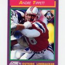1992 Score Football #144 Andre Tippett - New England Patriots