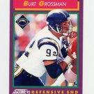 1992 Score Football #135 Burt Grossman - San Diego Chargers