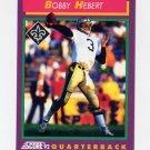 1992 Score Football #121 Bobby Hebert - New Orleans Saints