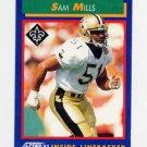 1992 Score Football #102 Sam Mills - New Orleans Saints