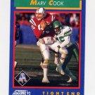 1992 Score Football #075 Marv Cook - New England Patriots