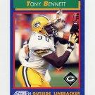 1992 Score Football #048 Tony Bennett - Green Bay Packers