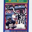 1992 Score Football #044 Michael Haynes - Atlanta Falcons