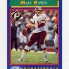 1992 Score Football #035 Mark Rypien - Washington Redskins