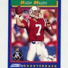 1992 Score Football #021 Hugh Millen - New England Patriots